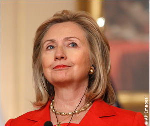 U.S. Außenministerin Hillary Rodham Clinton