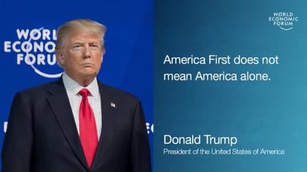 Donald Trump's speech at the World Economic Forum Annual Meeting 2018